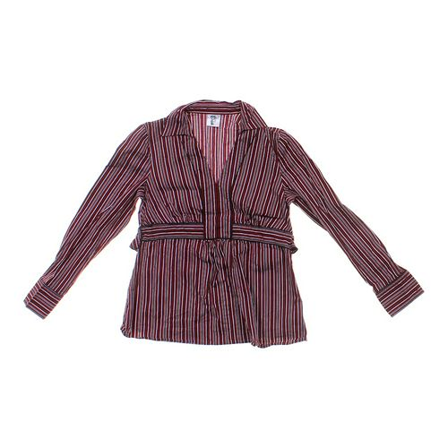 Motherhood Maternity Striped Maternity Shirt in size S at up to 95% Off - Swap.com