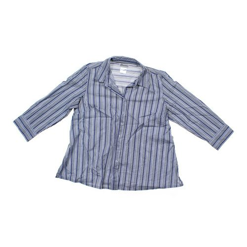 Oh! Mama Striped Maternity Shirt in size M (8-10) at up to 95% Off - Swap.com