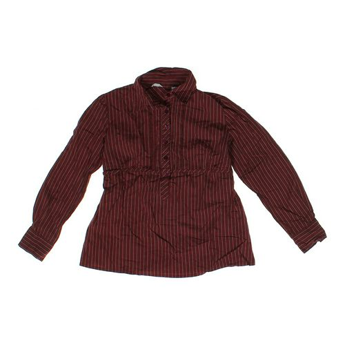 Tomorrow's Mother Striped Maternity Shirt in size M (8-10) at up to 95% Off - Swap.com