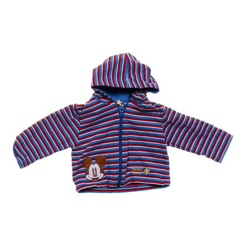Disney Striped Mickey Mouse Hoodie in size 12 mo at up to 95% Off - Swap.com