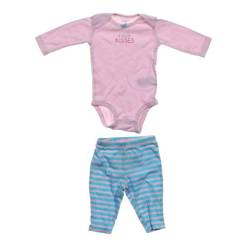 Carter's Striped Pants & Cute Bodysuit Set in size 3 mo at up to 95% Off - Swap.com