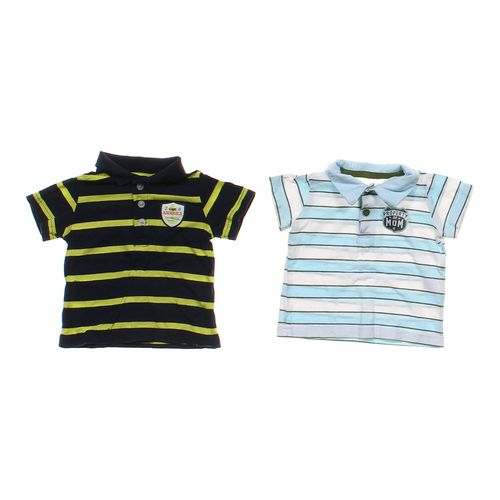 Child of Mine Striped Polo Shirt 2 Pack in size 6 mo at up to 95% Off - Swap.com