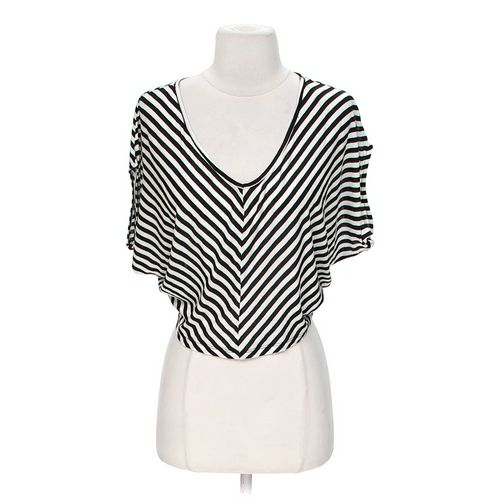 Ambiance Apparel Striped Poncho in size S at up to 95% Off - Swap.com