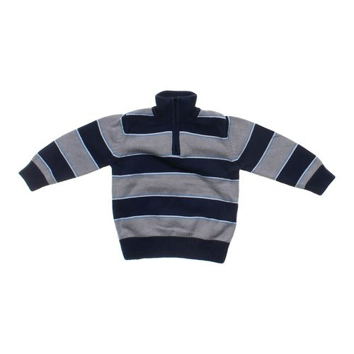 Tough Skins Boys Striped Pull-over Sweater in size 4/4T at up to 95% Off - Swap.com