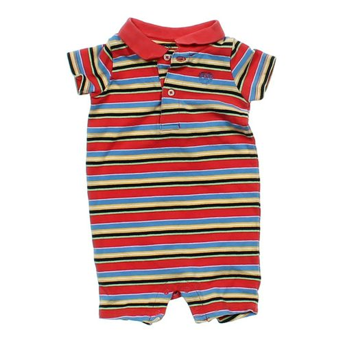 Chaps Striped Romper in size 6 mo at up to 95% Off - Swap.com