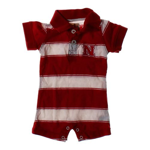 Garb Team Striped Romper in size 3 mo at up to 95% Off - Swap.com