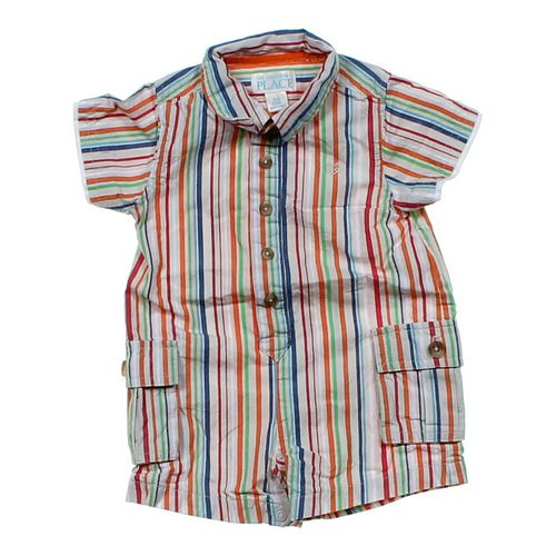 The Children's Place Striped Romper in size 3 mo at up to 95% Off - Swap.com