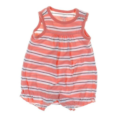Old Navy Striped Romper in size NB at up to 95% Off - Swap.com