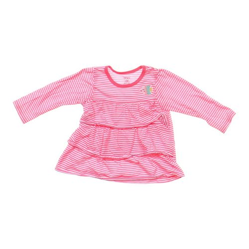 Carter's Striped Ruffled Shirt in size 12 mo at up to 95% Off - Swap.com