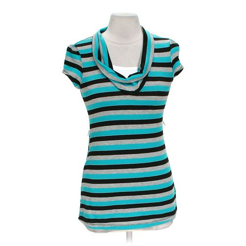 AMY BYER Striped Shirt in size L at up to 95% Off - Swap.com