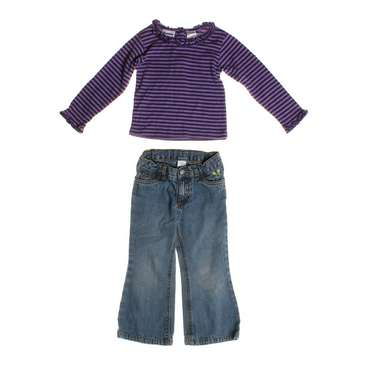 Striped Shirt and Jeans Set for Sale on Swap.com