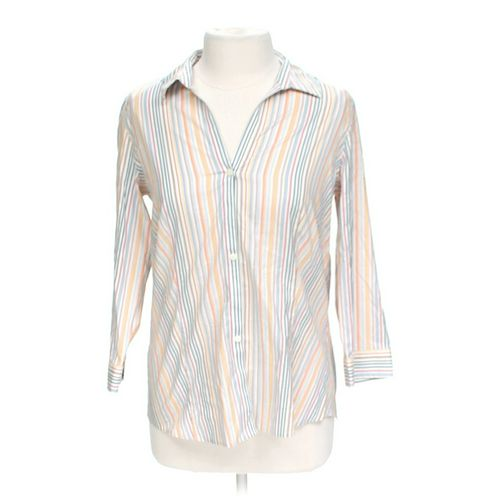 Eddie Bauer Striped Shirt in size L at up to 95% Off - Swap.com