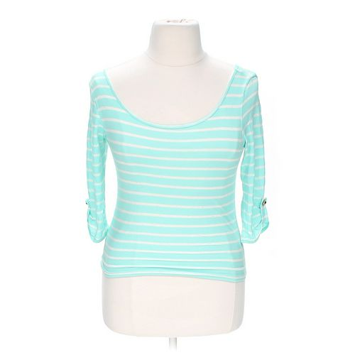 Charlotte Russe Striped Shirt in size L at up to 95% Off - Swap.com