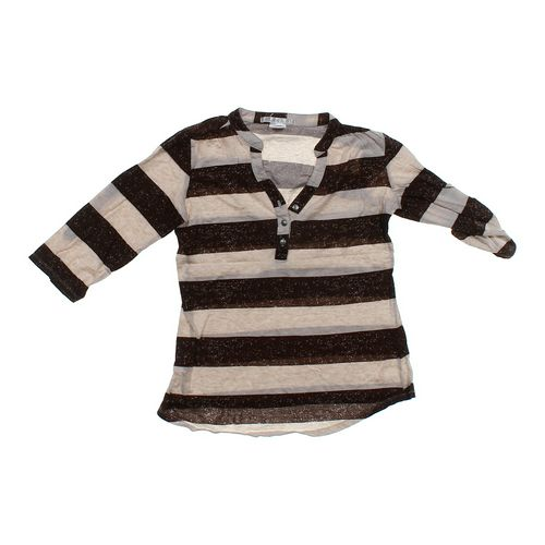 Charlotte Russe Striped Shirt in size JR 7 at up to 95% Off - Swap.com