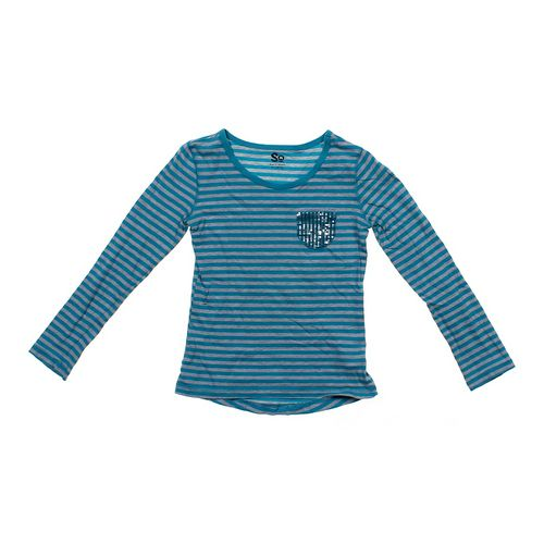 SO Striped Shirt in size 10 at up to 95% Off - Swap.com