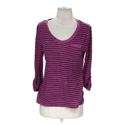 Laura Scott Striped Shirt in size M at up to 95% Off - Swap.com