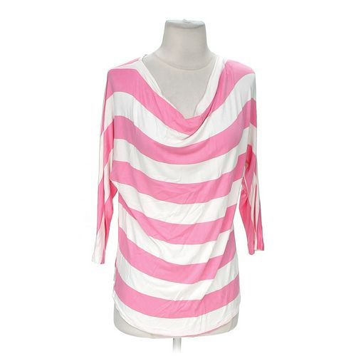 New York & Company Striped Shirt in size M at up to 95% Off - Swap.com