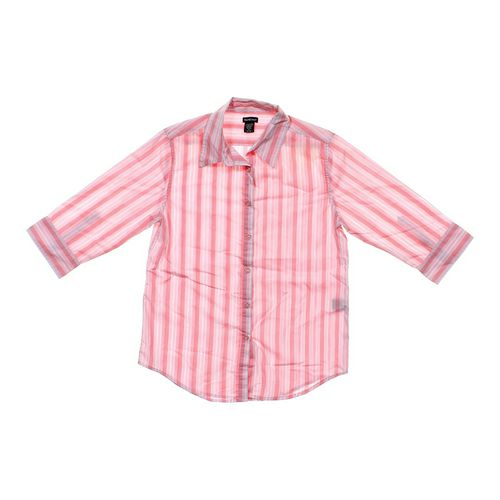 NorthCrest Striped Shirt in size 6 at up to 95% Off - Swap.com
