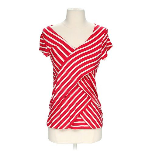 NY Collection Striped Shirt in size XS at up to 95% Off - Swap.com