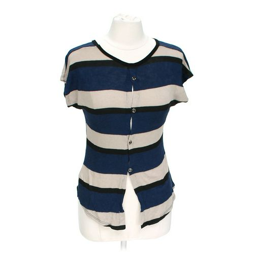 poerty Striped Shirt in size L at up to 95% Off - Swap.com