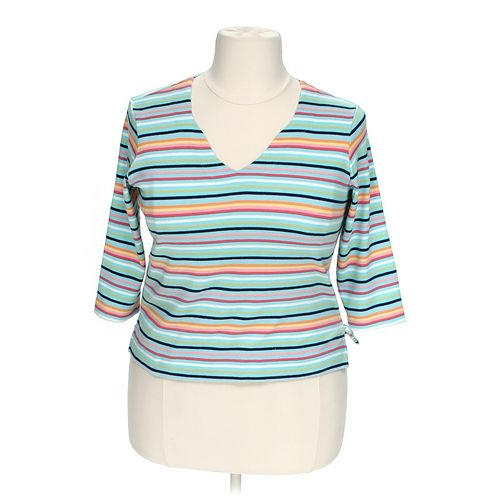 Talbots Striped Shirt in size XL at up to 95% Off - Swap.com