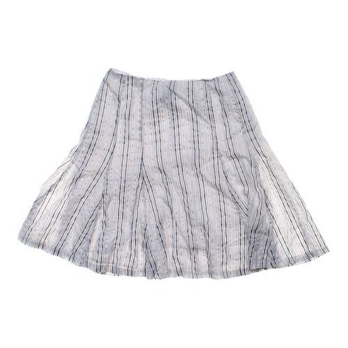 New York & Company Striped Skirt in size 6 at up to 95% Off - Swap.com