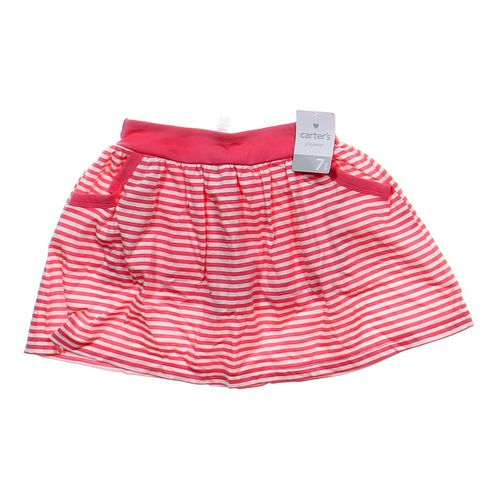 Carter's Striped Skort in size 7 at up to 95% Off - Swap.com