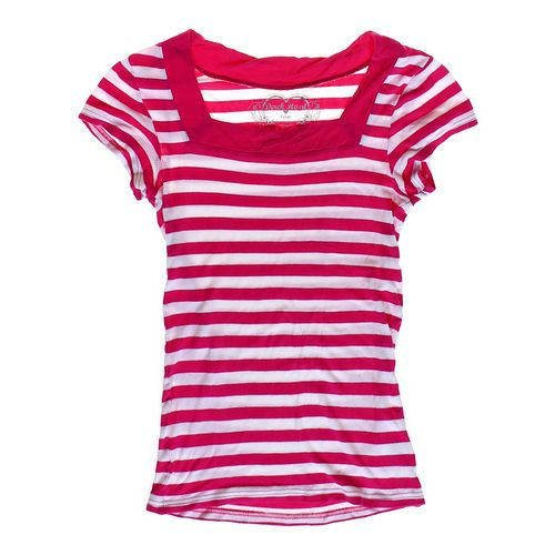 Derek Heart Striped Square Neck Shirt in size JR 11 at up to 95% Off - Swap.com