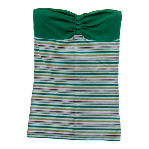 Derek Heart Striped Strapless Shirt in size JR 3 at up to 95% Off - Swap.com