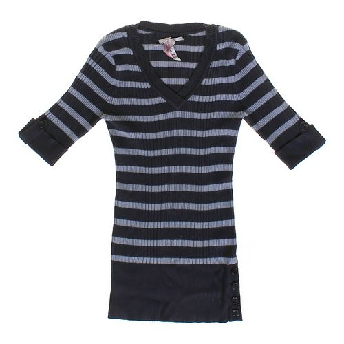 Derek Heart Striped Sweater in size JR 7 at up to 95% Off - Swap.com