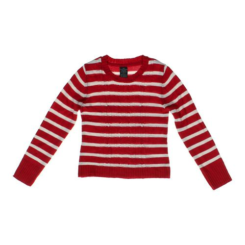 Faded Glory Striped Sweater in size 14 at up to 95% Off - Swap.com