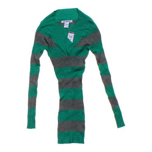 Say What? Striped Sweater in size JR 7 at up to 95% Off - Swap.com