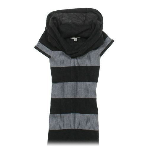 Pink Rose Striped Sweater Tunic in size JR 7 at up to 95% Off - Swap.com