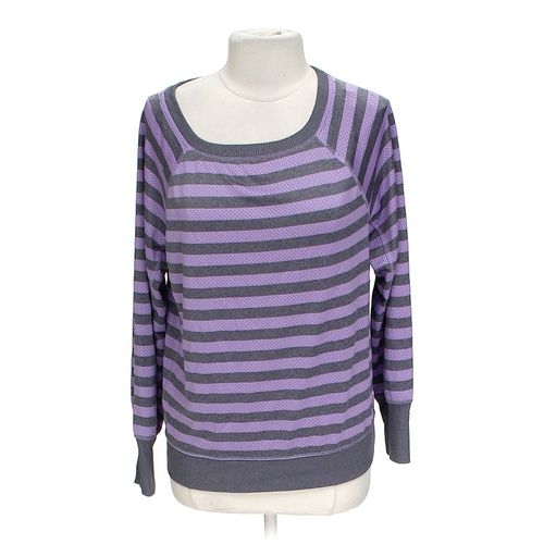 Xersion Striped Sweater in size L at up to 95% Off - Swap.com