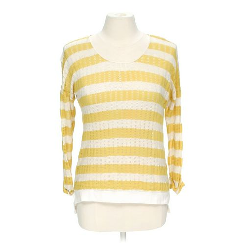 Xhilaration Striped Sweater in size M at up to 95% Off - Swap.com