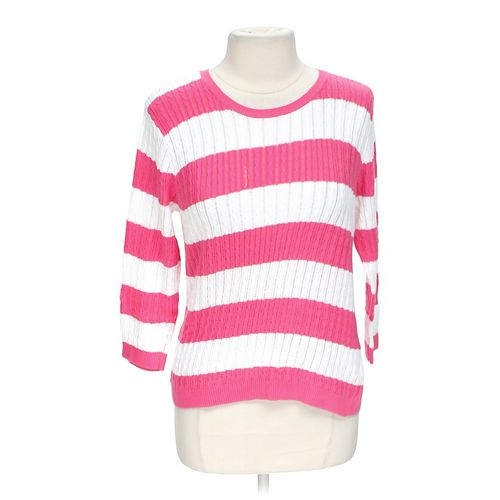 Jeanne Pierre Striped Sweatshirt in size L at up to 95% Off - Swap.com