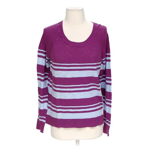 Mossimo Supply Co. Striped Sweatshirt in size L at up to 95% Off - Swap.com