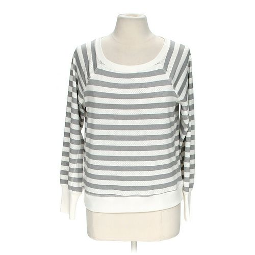 Xersion Striped Sweatshirt in size M at up to 95% Off - Swap.com