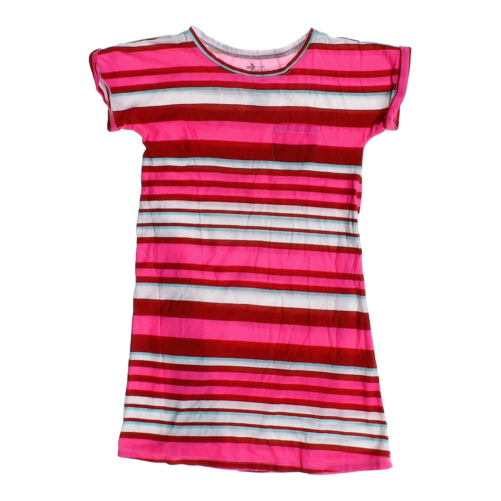 Multi colored old navy striped t shirt dress in size jr 7 for Navy striped dress shirt