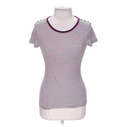 Faded Glory Striped T-shirt in size 4 at up to 95% Off - Swap.com