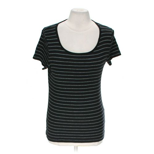 Jones New York Striped T-shirt in size M at up to 95% Off - Swap.com