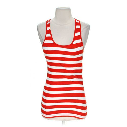 Active Basic Striped Tank Top in size M at up to 95% Off - Swap.com
