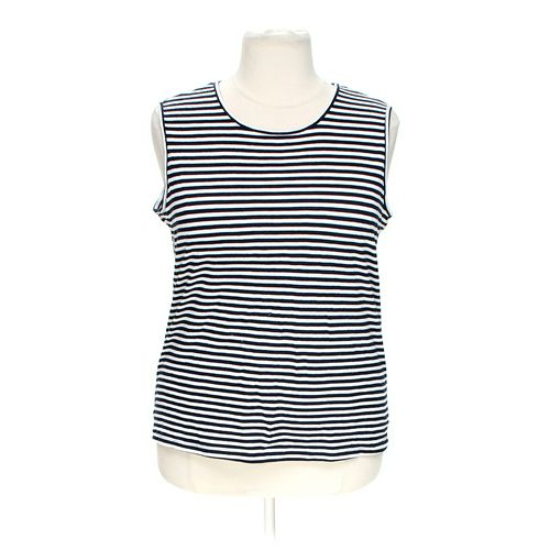 Bobbie Brooks Striped Tank Top in size XL at up to 95% Off - Swap.com