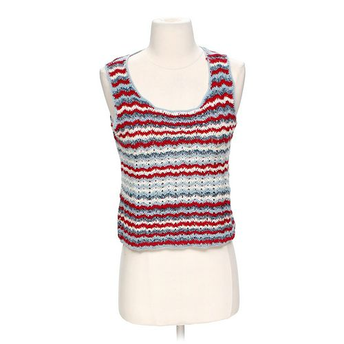 Evan Picone Striped Tank Top in size S at up to 95% Off - Swap.com