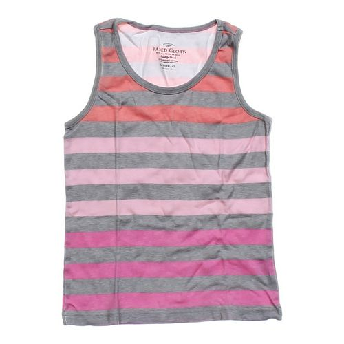 Faded Glory Striped Tank Top in size 10 at up to 95% Off - Swap.com