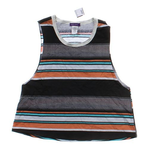 Hot Gal Striped Tank Top in size JR 13 at up to 95% Off - Swap.com
