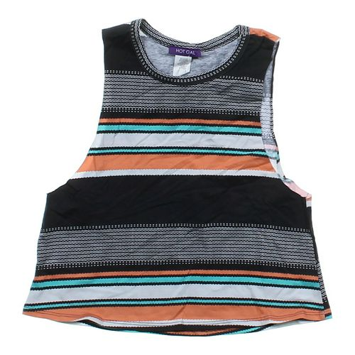 Hot Gal Striped Tank Top in size JR 7 at up to 95% Off - Swap.com