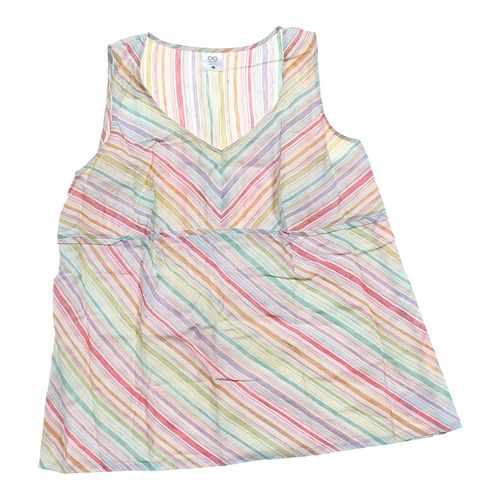 Maternity Striped Tank Top in size L at up to 95% Off - Swap.com