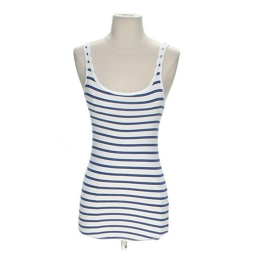 Merona Striped Tank Top in size XS at up to 95% Off - Swap.com