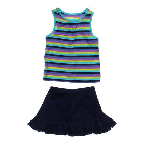 Circo Striped Tank Top & Skirt Set in size 3/3T at up to 95% Off - Swap.com